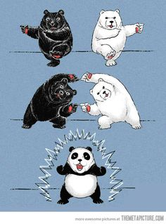 dragon ball panda FEAR THE PANDA this why to fear pandas