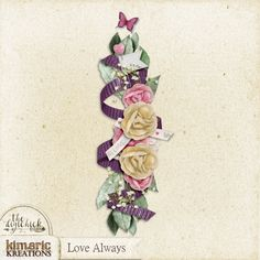 kimeric kreations: A Love Always cluster from Chrissy tonight!