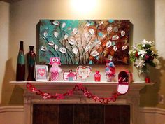 50  Eye-catching Ideas for Valentine's Day Mantel Decorations