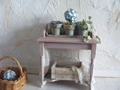 12th scale shabby chic stand by shabbychicminis on Etsy, $70.00