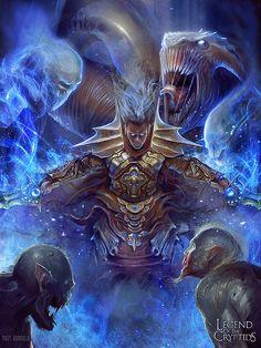 Amazing Digital Art by Yigit Koroglu  (Legend of Cryptids)