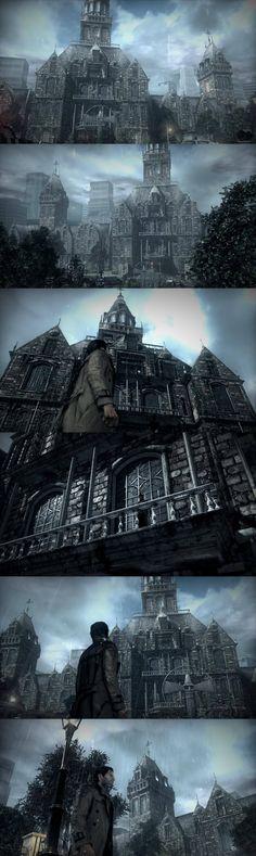 Sebastian Castellanos, Beacon Mental Hospital,  The Evil Within