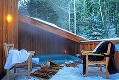Great Rustic Hot Tub