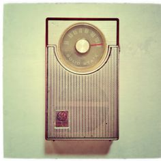 GE transistor radio P1730 from 1966