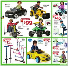 Walmart Black Friday Flyer 2015 Page 16 - Frozen Scooter $15
