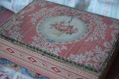 antique French vanity box