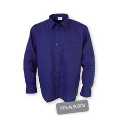 Camisa Manga Larga 1 Bolsillo Algodón Referencia  1022 Marca:  Chintex  2 bolsillos en pecho con tapeta y cierre de botón. Cuello termofijado. Tapeta inglesa. Cierre puño mediante botón. Sardineta en puño.