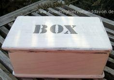 Geschenk- & Gutscheinbox Box No. 40 von Ein wenig hiervon & davon auf DaWanda.com