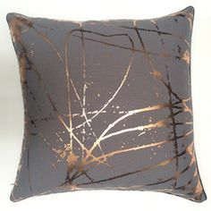 Scratchy Copper Cushion Cover