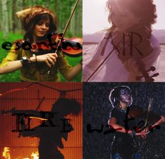 lindsey stirling - elements seriously... could she GET any prettier???