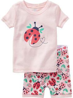 Ladybug PJ Sets for Baby