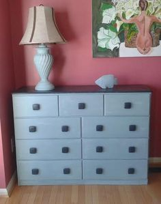 This is a lovely vintage shabby chic dresser by ShabbyChicStudioJJ