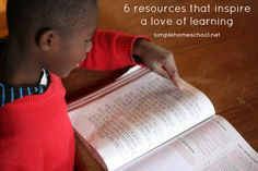 6 resources that foster a love of learning.