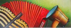 cuadro típico región caribe Colombiana, Miguel Tapia Baseball, Picture Walls, Art