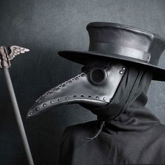 Buy plague doctor masks with a longer beak, black color. Beak mask for your Halloween plague doctor costume cosplay See other ideas and pictures from the category menu…. Faneks healthy and active life ideas Plague Dr Mask, Black Plague Mask, Bubonic Plague Mask, Dr Tattoo, Doctor Tattoo, Yakuza Tattoo, Beak Mask, Plauge Doctor, Mugiwara No Luffy