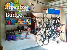 How to organize on a budget! Tips and tricks to help tackle those organization projects without breaking the budget.