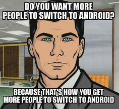 After hearing about Apple's new IPhone with no audio jack...