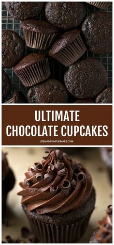 Gourmet Cupcakes, Cupcake Flavors, Moist Cupcakes, Yummy Cupcakes, Baking Recipes Cupcakes, Flavored Cupcakes, Simple Cupcakes, Healthy Cupcakes, Chocolate Flavors