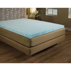"Found it at Wayfair - 3"" Gel Memory Foam Mattress Topper"