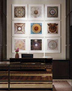 Love the Gallery! at st. regis hotel, san francisco/yabu pushelberg