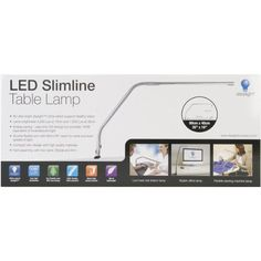 Special Offers - Daylight LED Slimline Table Lamp - In stock & Free Shipping. You can save more money! Check It (June 02 2016 at 09:24AM) >> http://tablelampusa.net/daylight-led-slimline-table-lamp/