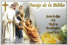 Vidas Santas: Santo Evangelio según san Lucas 18:42