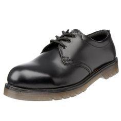 Sterling Steel Men's SS100 Safety Shoes Black 3 UK