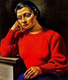 Berni, Antonio (1905-1981) - 1935 The Woman's Red Sweater (Private Collection) by RasMarley, via Flickr