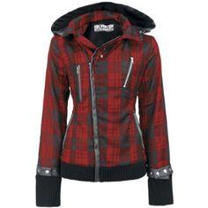 Z Jacket Ladies Alternative Emo Punk Goth Osiris Fashion Poizen Industries:Amazon.co.uk:Clothing