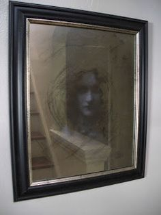 DIY: A Creeptastically Eerie Mirror - more expensive but also creepier, more realistic, and all around better.