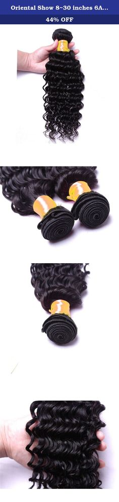 Oriental Show 8~30 inches 6A Brazilian Deep Wave, 1 bundle(100g), 100% Unprocessed Virgin Human Hair, Natural Color (20). PRODUCT DESCRIPTION Hair Extension Type:Weaving Material:Human Hair Color Type:Natural Color Items per Package:1 Pieces/Order Unit Weight:100g(+/-5g)/piece Texture:Deep Wave Hair Weft:Machine Double Weft Can Be Permed:Yes Human Hair Type:Brazilian Hair Chemical Processing:None Material Grade:6A Grade Virgin Hair Color:Natural color Quality:No Chemical No Shedding…