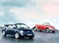 VW New Beetle Cabrio & VW Käfer Cabrio | Auto Clasico | Flickr