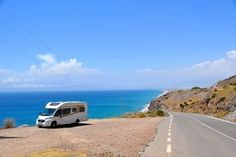 Camping Car, Campsite, Travel Around The World, Around The Worlds, Europa Tour, Places In Spain, Andalucia, Algarve, Caravan
