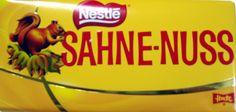 NESTLE Sahne Nuss 140 grs.