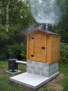 SMOKEHOUSE BUILDING PLANS | Find house plans #deckbuildingplans