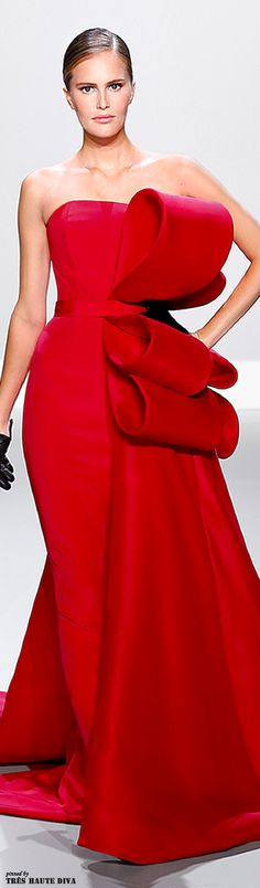 #12COSTARICA Ralph & Russo - red gown - Spring/Summer 2014