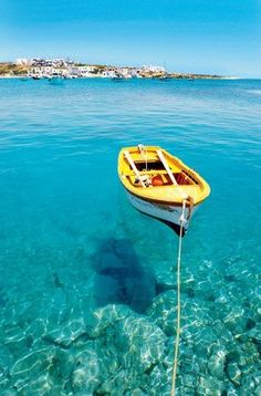 Floating on Koufonissi , Cyclades
