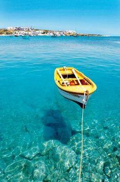 Floating on Koufonis