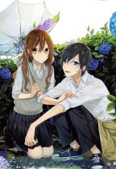 Fanarts Anime, Anime Films, Anime Characters, Manga Anime, Anime Art, Anime Love, Anime Guys, Street Art Love, Horimiya