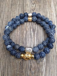 Whether you're a precious jewelry designer looking for inspiration or just a person who likes style, understanding what's trending will surely be helpful. Men's Jewelry Rings, Beaded Jewelry, Handmade Jewelry, Jewellery, Gemstone Bracelets, Bracelets For Men, Bracelet Men, Chakra Bracelet, Men's Accessories