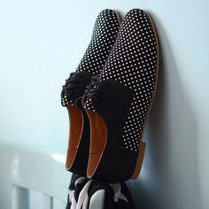 Cuero zapatos de mujer Oxford plana zapatos  blanco por BackToCool