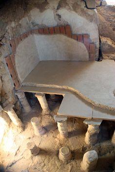 Herod The Great's Bath House (Masada) #Israel #archaeology
