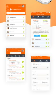 Easyworkflow Free Mobile App Freebies App Buttons Checkbox Dropdown Free Menu Mobile Navigation PSD Resource Search Field Tab Task Template UI