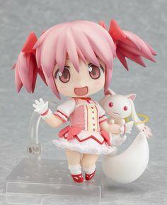Madoka Kaname (Madoka Magica) - Nendoroid. I NEED THIS TOO!!!