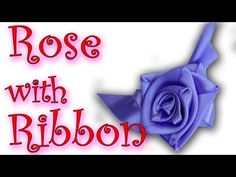 How to Make Silk, Satin or Ribbon Roses: 8 Steps (with Pictures)