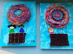 Workpiece for circular weaving - fraumohrsrasselbandes website! - Workpiece for circular weaving – fraumohrsrasselbandes website! Projects For Kids, Art Projects, Crafts For Kids, Arts And Crafts, Weaving For Kids, Weaving Art, Art Minecraft, Circular Weaving, Fun Craft