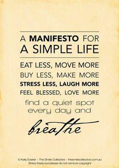 So simple.