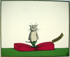 Edward Gorey Christmas card...hoover did this to me this week when I was sorting my cards for church & the ones were mailing.