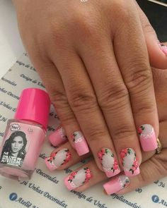 Fingernail Polish Designs, Nail Art Designs, Manicure Colors, Nail Colors, Purple And Pink Nails, Cat Nails, Classy Nails, Beautiful Nail Art, Easy Nail Art
