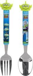 Toy Story hirviöaterimet, haarukka ja lusikka